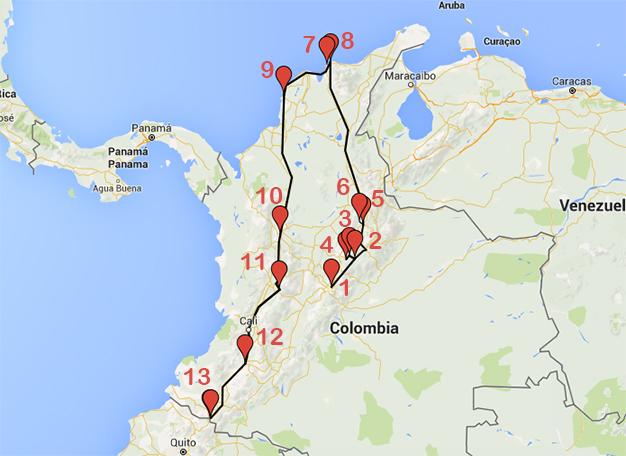 recorridoColombia