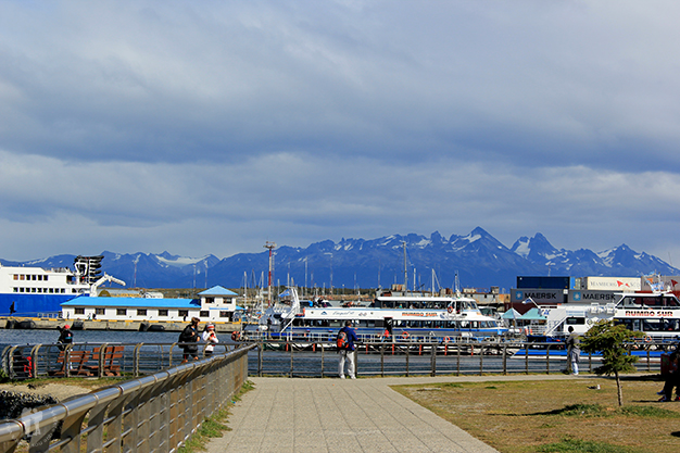 Barcos en Ushuaia