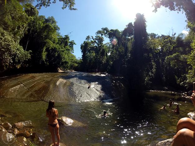 Varias cachoeiras cerca de Paraty
