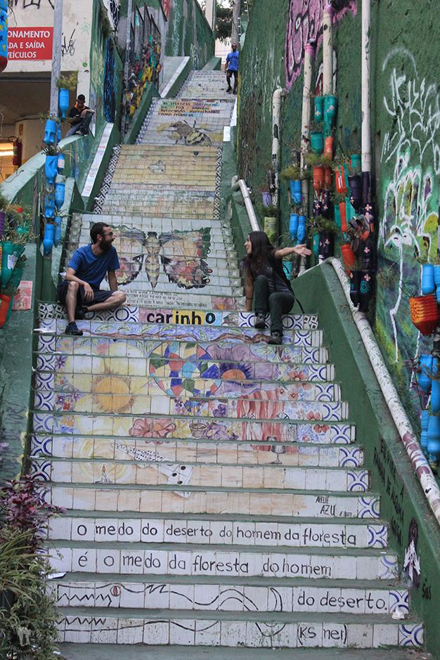 Escalera en Vila Madalena