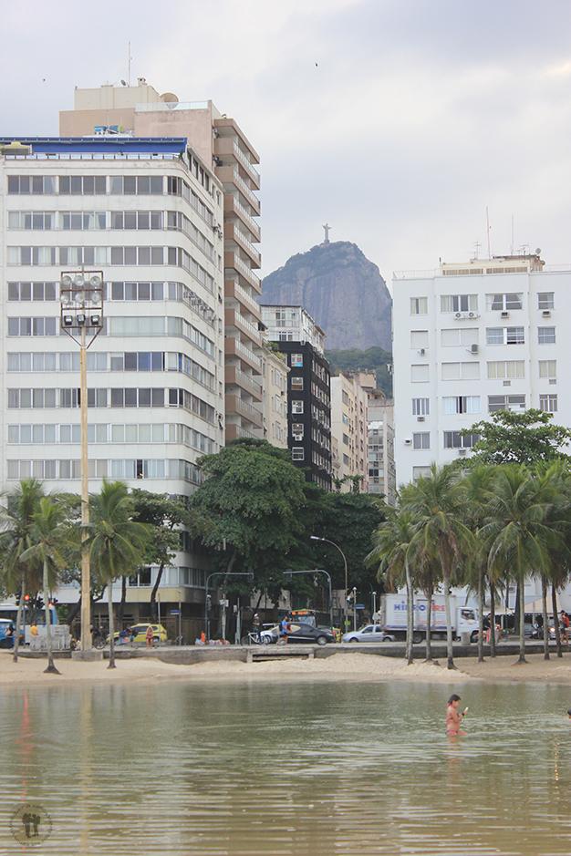 Cristo Redentor desde Copacabana