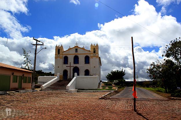 Carretera hacía Lençois en Mucugê