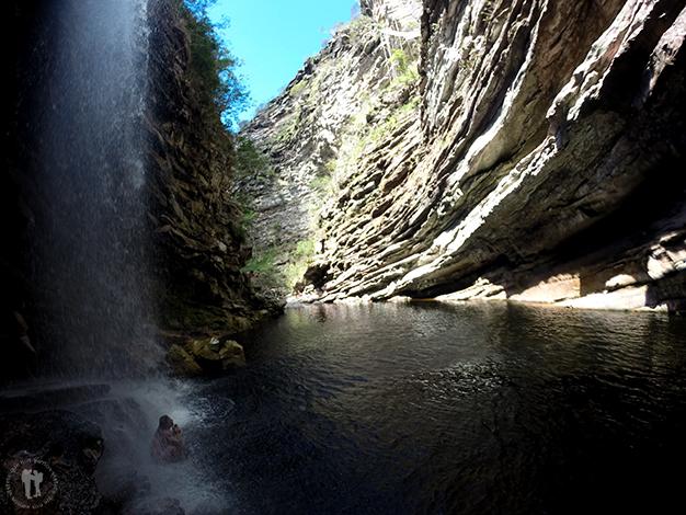 Dentro de la Cachoeira de Sossego
