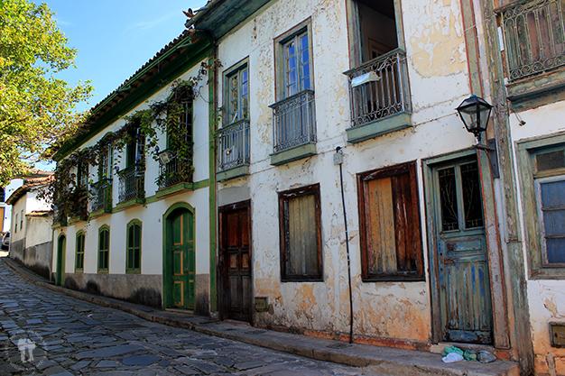 Antiguas casas de la ciudad