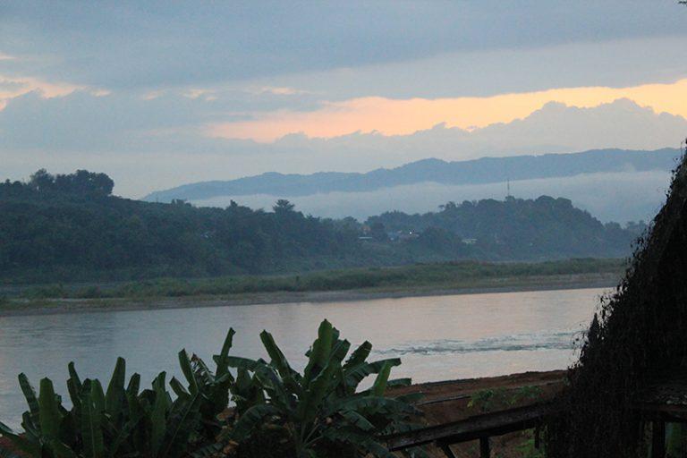 A orillas del río Mekong