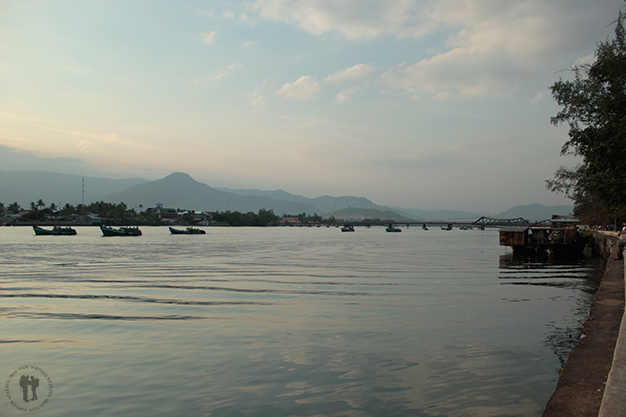 Cerca del río en Kampot