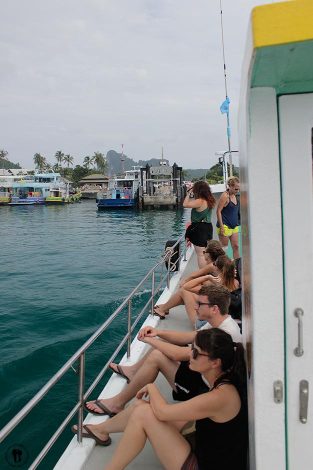Desembarcando del ferry