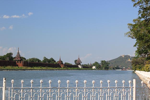 Palacio y fuerte de Mandalay