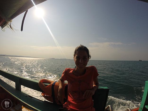 De camino a Koh Rong