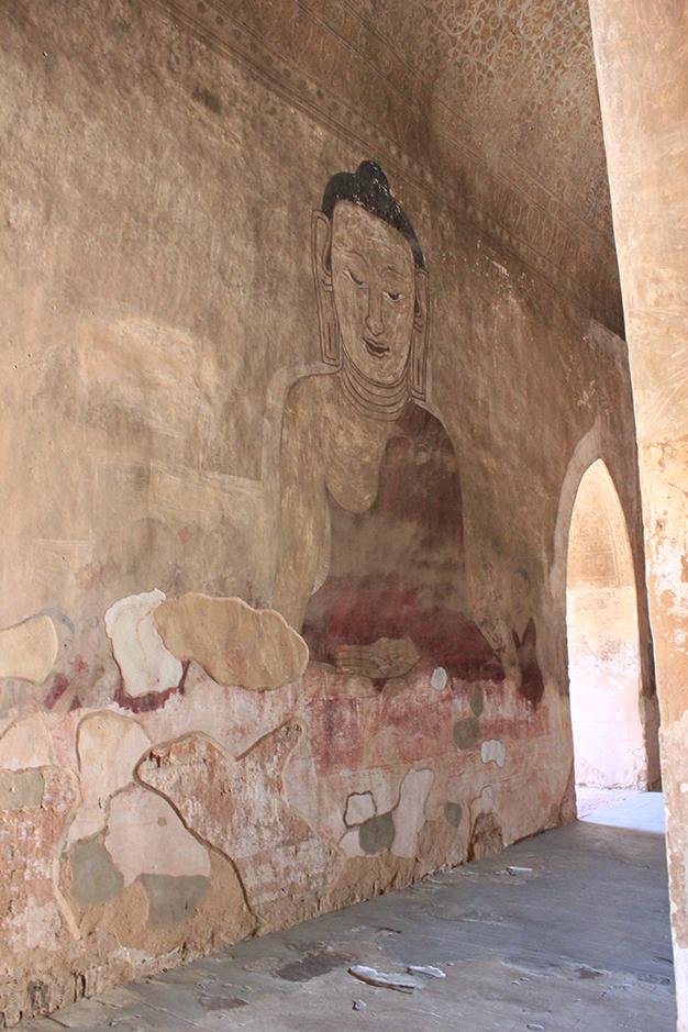 Pinturas sin restaurar