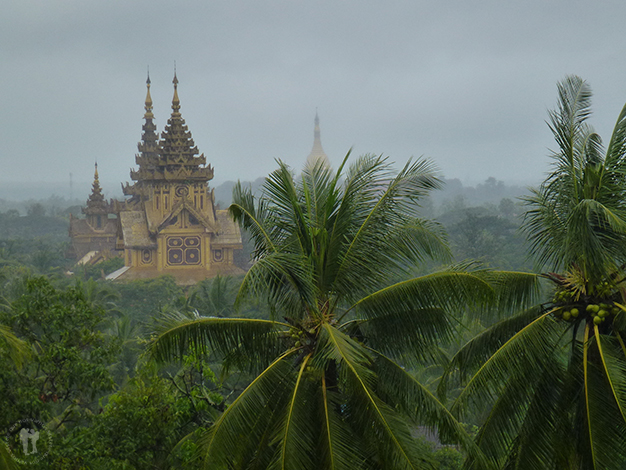 Shwemawdaw Paya. Foto realizada por Jesús Valera