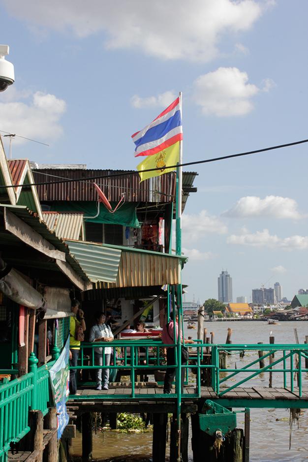 Puerto del río Cha Phraya