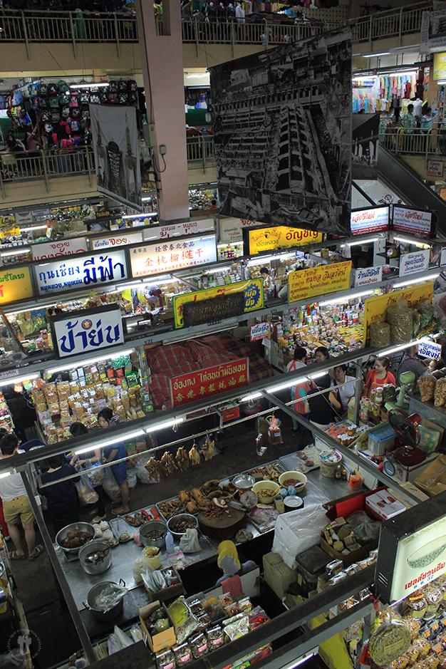 Mercado en el barrio chino, Chiang Mai