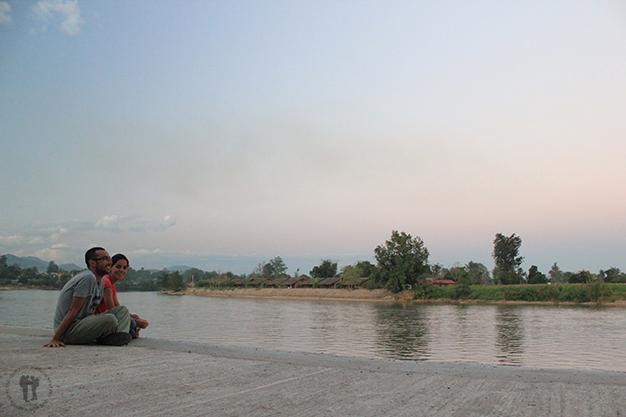 Contemplado el Dokhtawadya su paso por Hsipaw