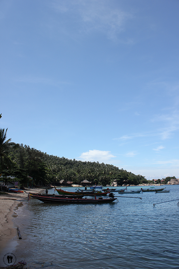 Puerto de Mae Haad Bay