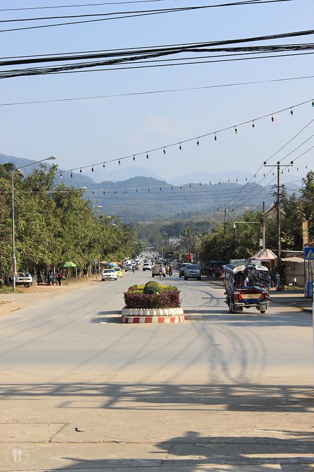 Calles Luang Prabang
