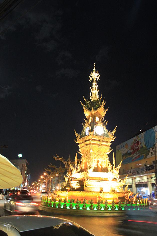 Torre del reloj, Chiang Rai