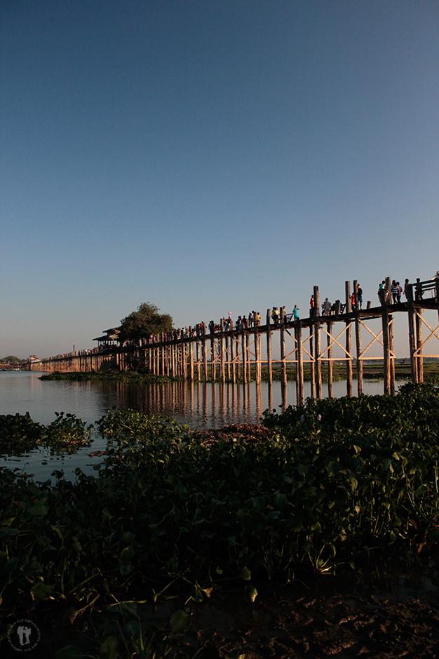 Puente U Bein, el puente de teca más largo del mundo