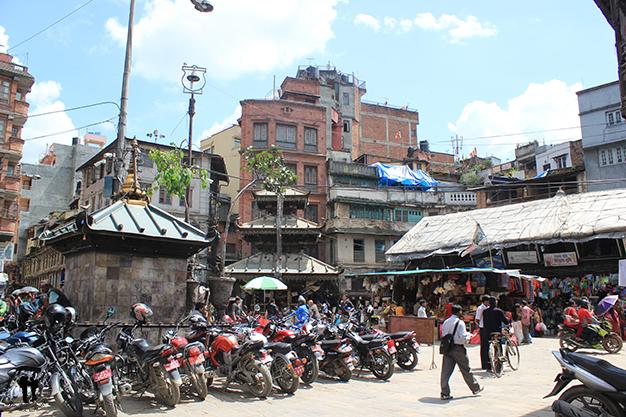 Paseando por las calles de Kathmandú