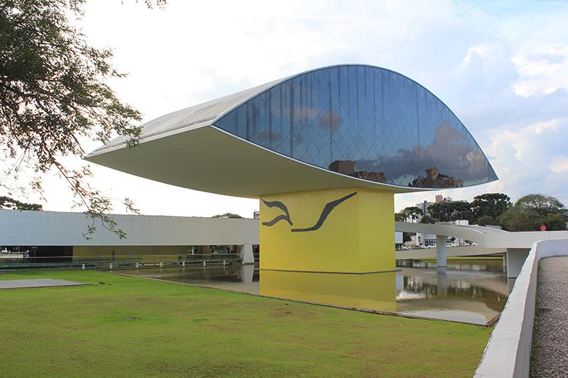 Museo del arquitecto brasileño Oscar Niemeyer