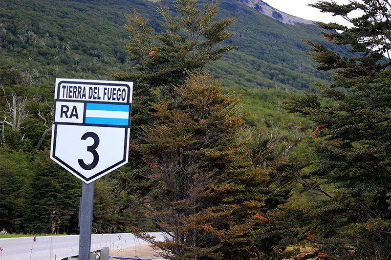 Ruta a Tierra del Fuego