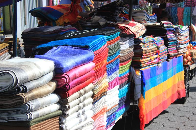 Textil en el mercado