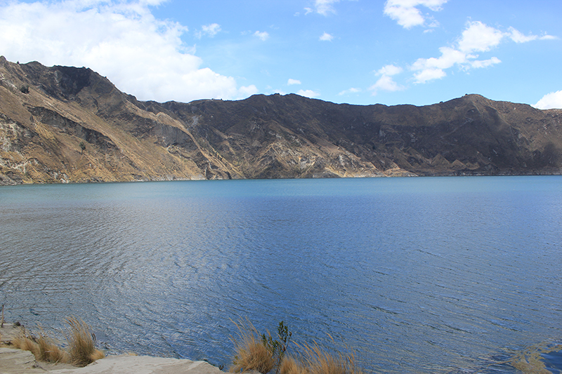 A orillas de la laguna