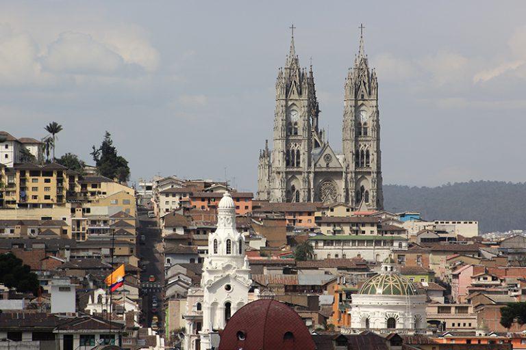 Vistas a la Catedral de Quito
