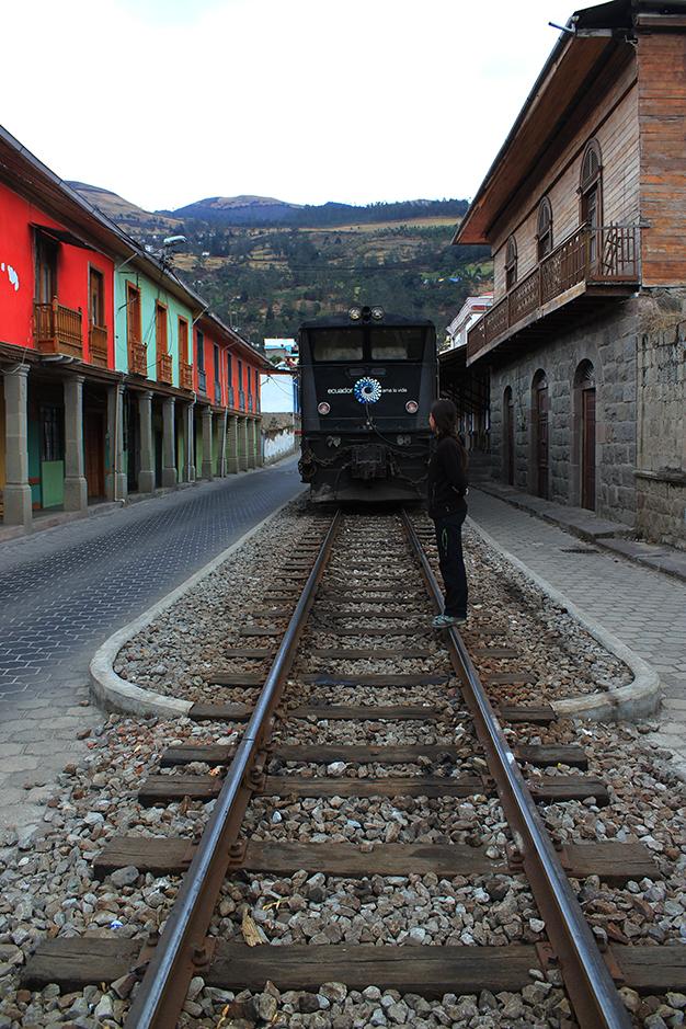 Estación de tren de Alausí
