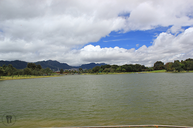 Parque Simón Bolívar desde el lago