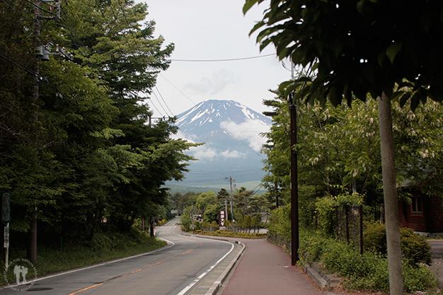 Primeras vistas del monte Fuji