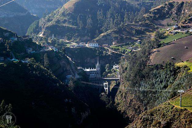 Vistas del cañón del río Guáitara