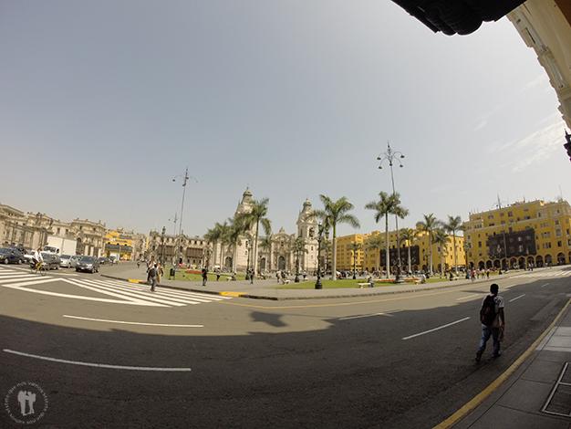 Barrio tranquilo de Lima