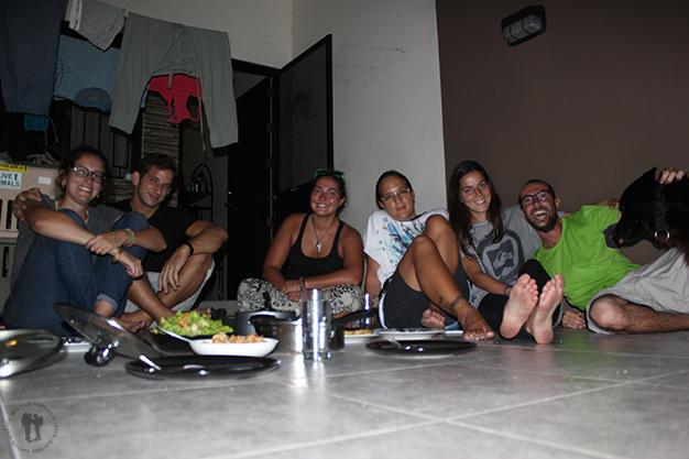 Cena en casa de Bianca