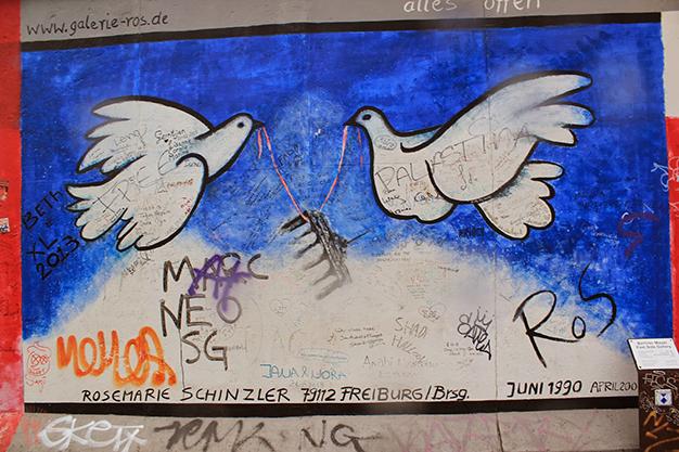 El muro dividió durante mucho años la ciudad de Berlín