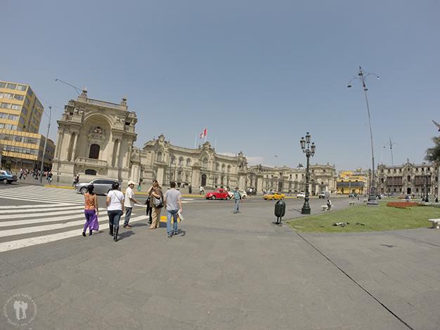 Palacio del Gobierno de Perú