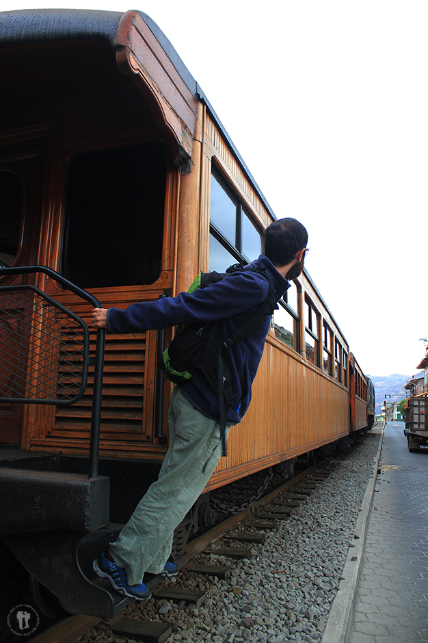 ¡Pasajeros al tren!