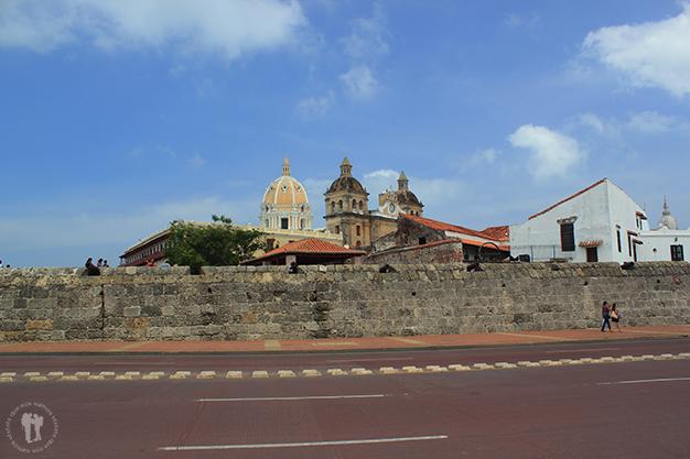 Exterior de la muralla de Cartagena