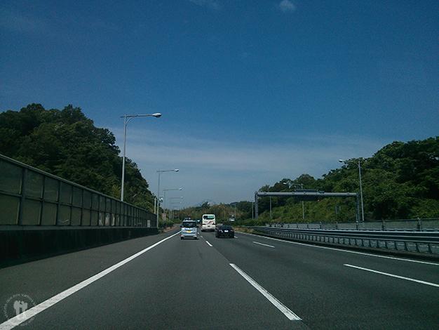 Por la carretera camino a Kyoto