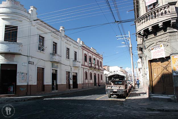 Calles de Riobamba