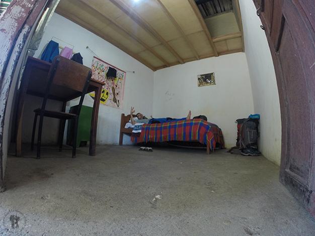El hospedaje más barato que encontramos en todo Ecuador