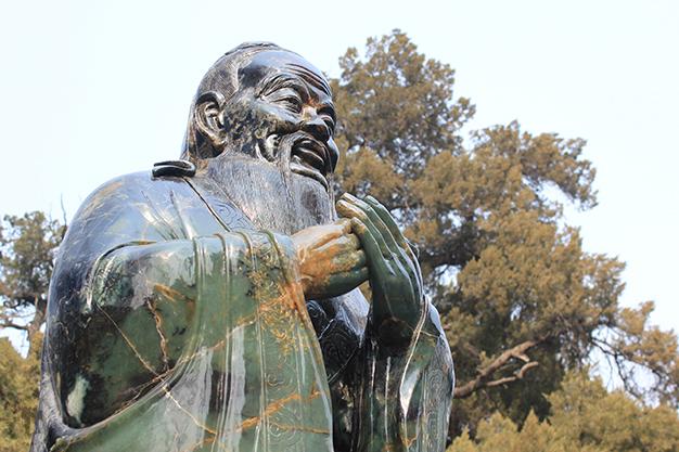 Estatua templo confuciano