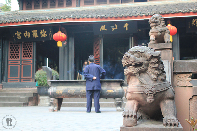 Detalles de un templo Taoísta