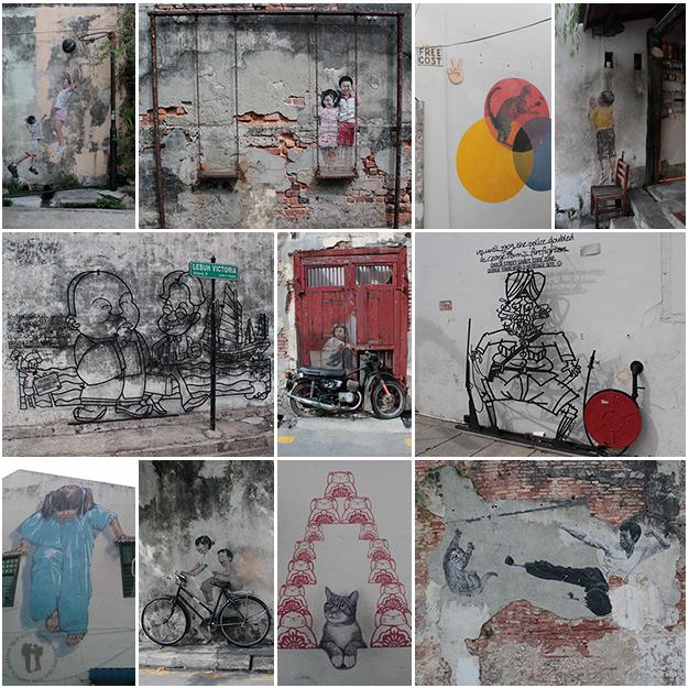 Street Art en Georgetown