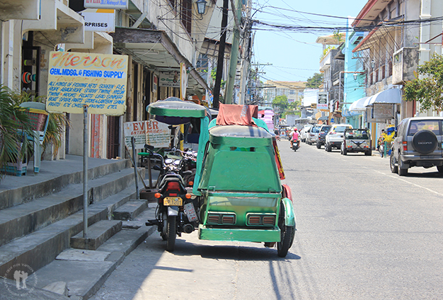 Triciclos filipinos