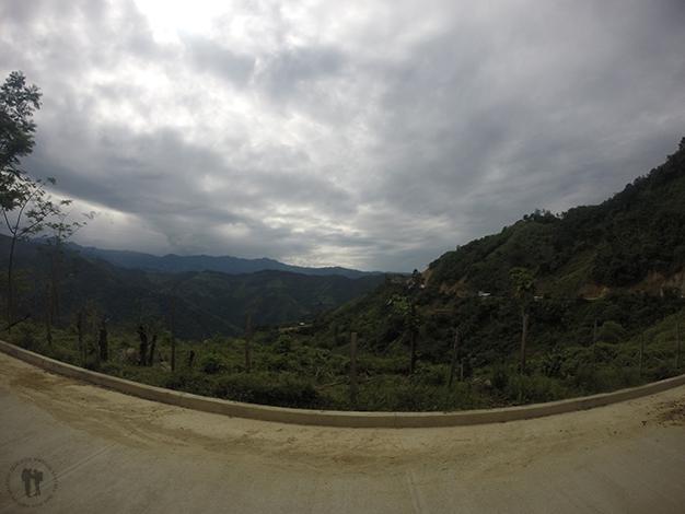 Carretera hacía Zumba