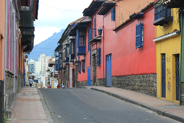 Coloridas calles de la Candelaria