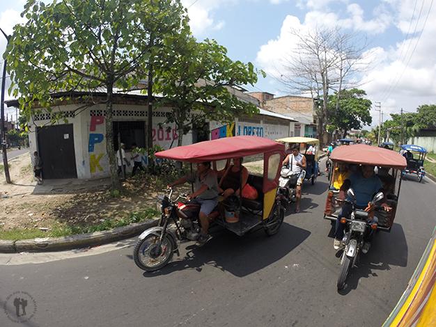 Moto - taxi en Iquitos