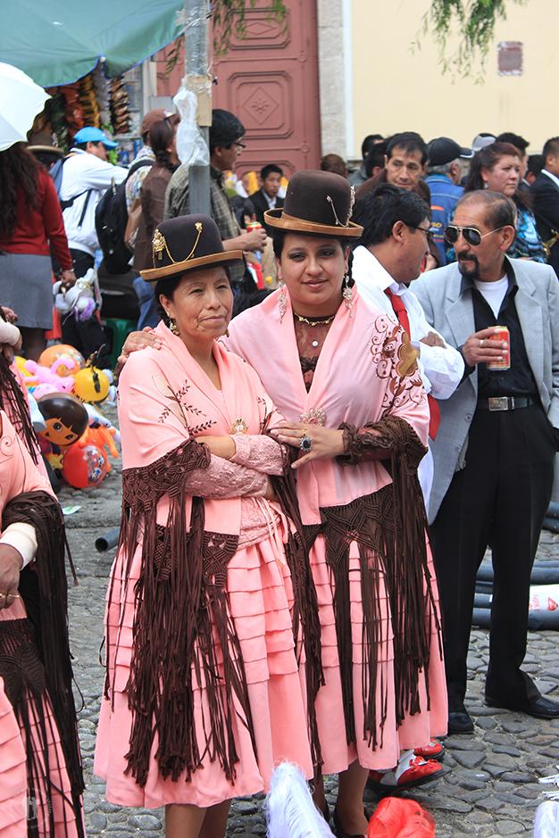 Festividad en las calles de La Paz