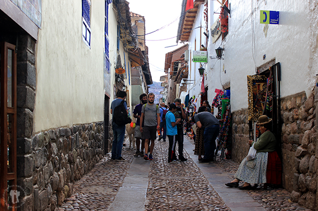 Calles comerciales de Cuzco